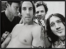 John Frusciante, Anthony Kiedis, Chad Smith, Flea